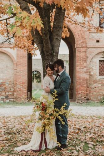 Fall Tuscany Wedding